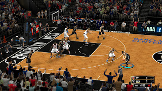 NBA 2K13 Brooklyn Nets HD Court Patch
