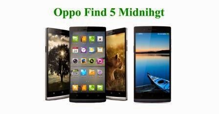 Harga Oppo Find 5 Midnight baru, Harga Oppo Find 5 Midnight bekas, Spesifikasi lengkap Oppo Find 5 Midnight