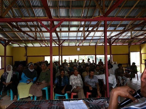 Rapat Evaluasi Gapoktan Utama Tani Nagari Guguak Tabek Sarojo