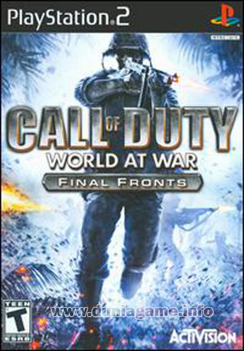 Call of Duty: World at War PS2 ISO