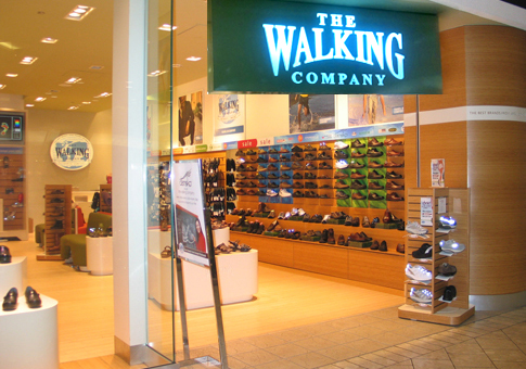 Online Application: The Walking Company Shoe Store