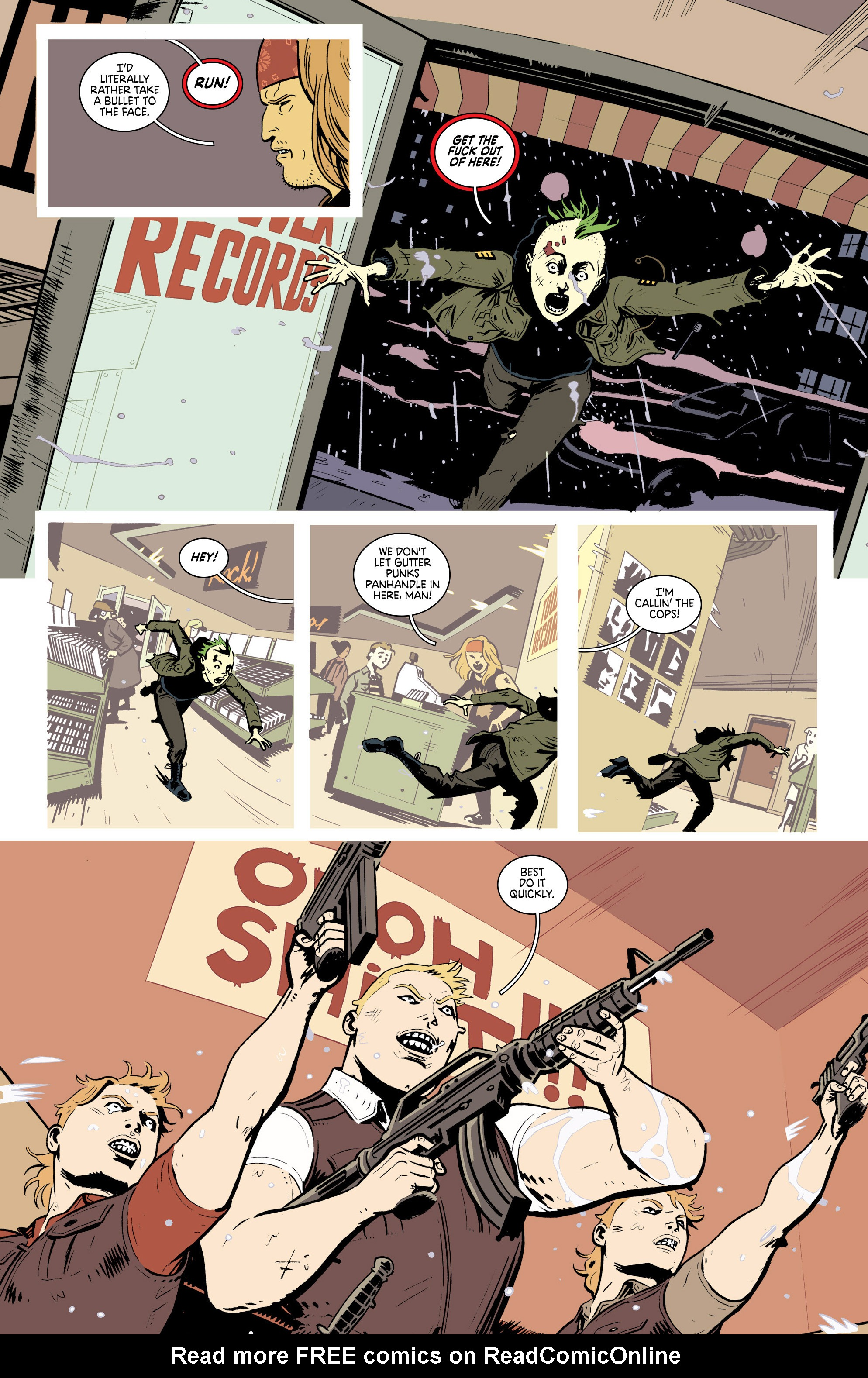 Read online Deadly Class comic -  Issue #19 - 4