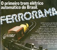 Propaganda do Ferrorama da Estrela, veiculado nos anos 70.
