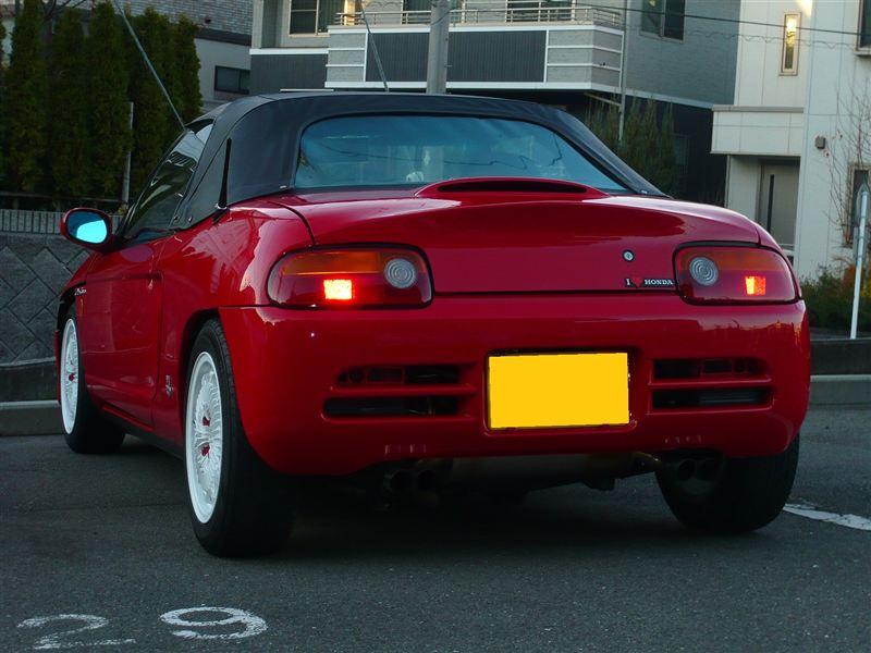 czerwona, Honda Beat, auta z małymi silnikami, małe sportowe samochody, kei car, JDM, zdjęcia
