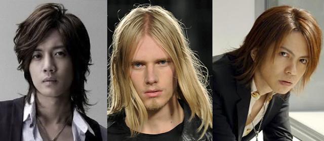 Model rambut panjang pria terurai
