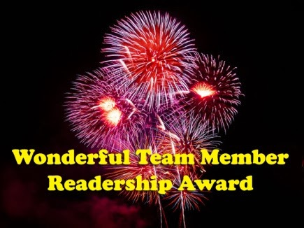 Wonderful Team  Reader Award