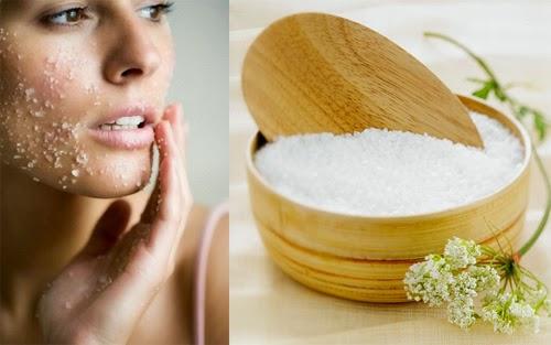 Mẹo để da hết nhờn với Muối biển vô cùng hiệu quả