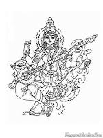 Mewarnai Gambar Dewa Umat Hindu