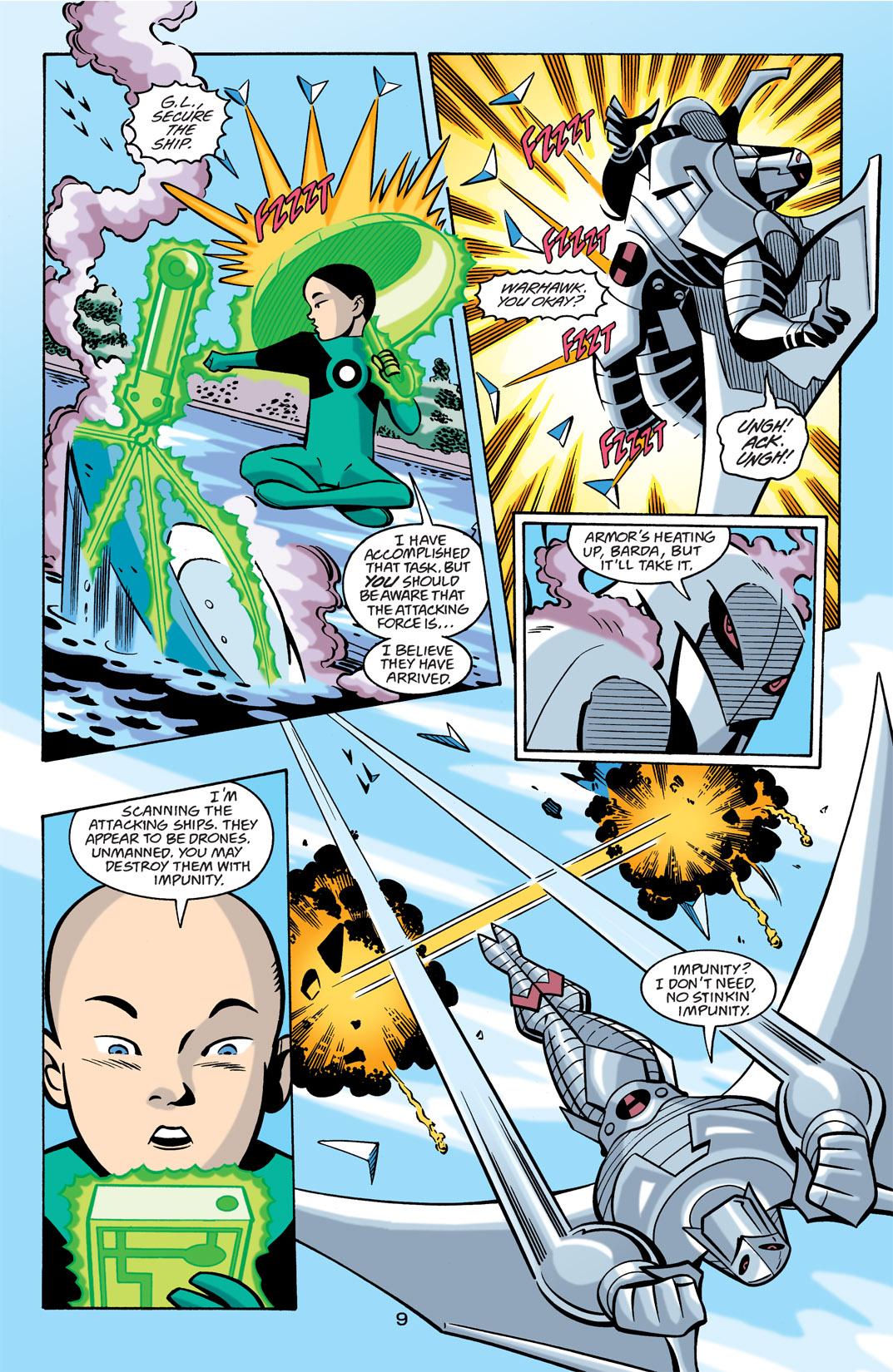 Batman Beyond [II] Issue #21 #21 - English 10