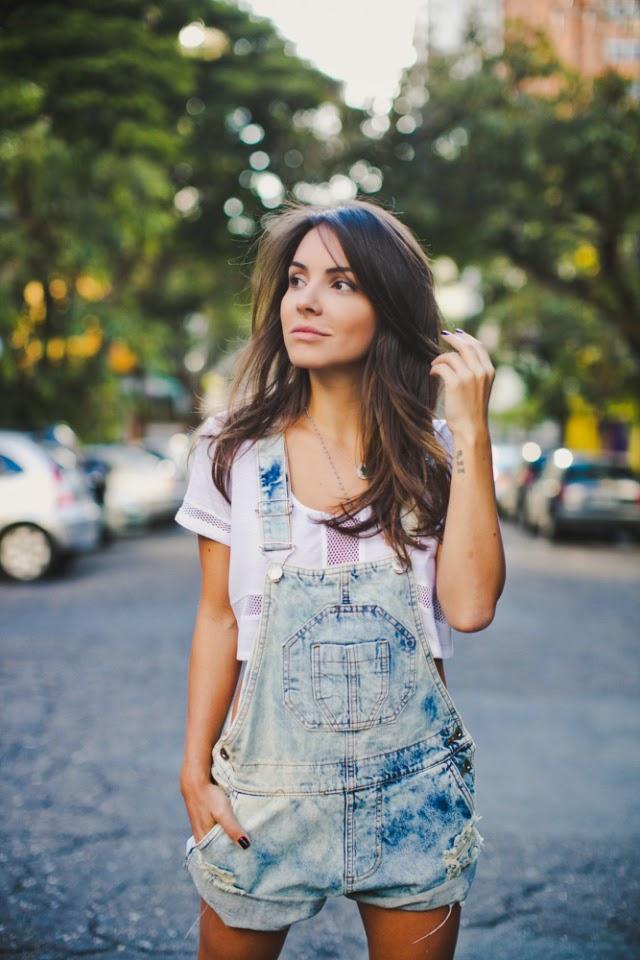 Extremamente Como usar Jardineira Jeans | Hora de Diva OI32