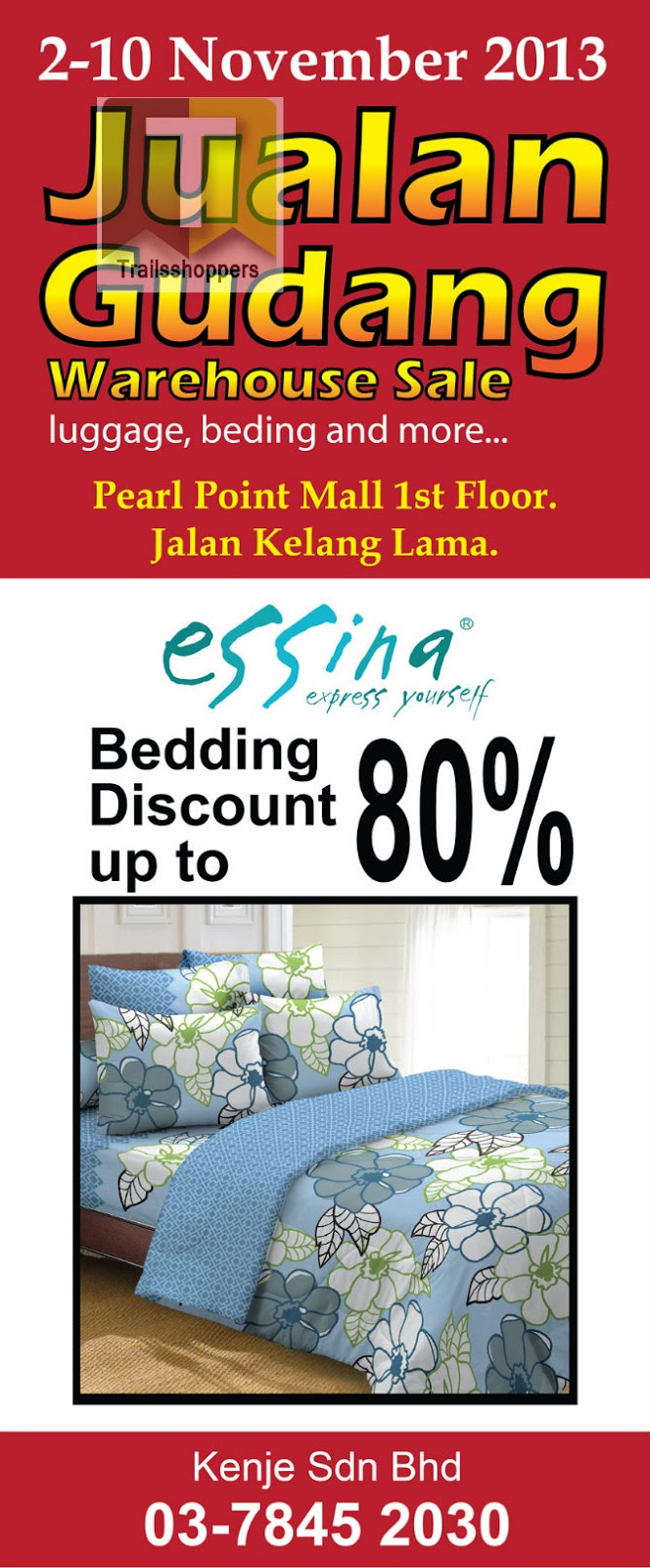 Essina Beddings Warehouse Sale 2013