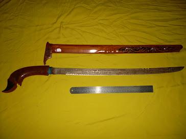 Pedang Badak Sumbu Berwafak Ayatul Kursi