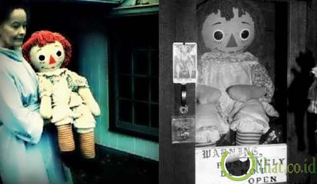 Annabelle, Boneka dirasuki Iblis yang Hobi Berbohong