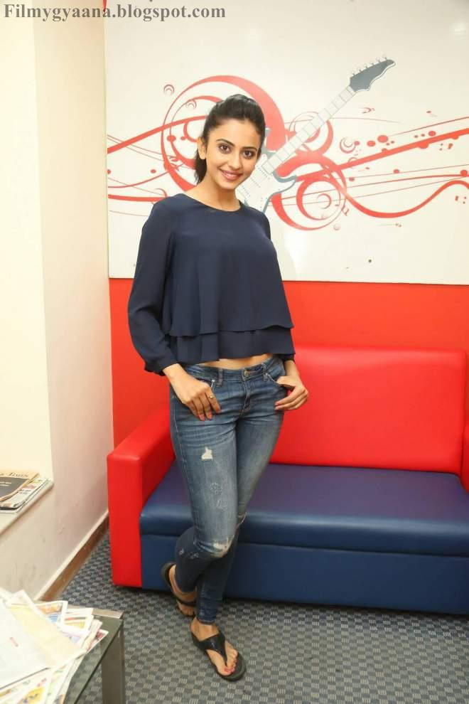 Rakul Preet Singh Photos and Pictures in Raped Jeans