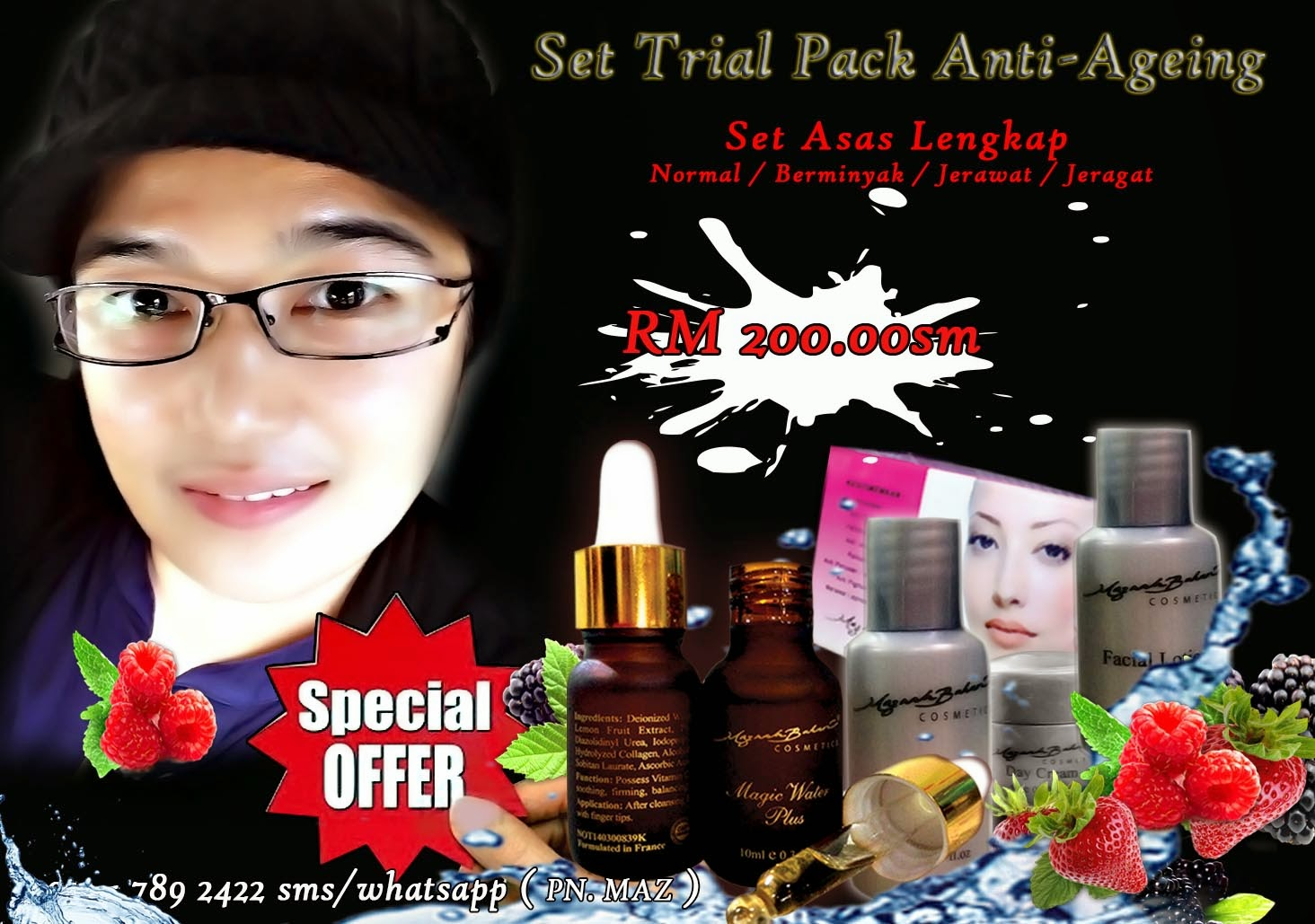 Trial Pack Anti Ageing