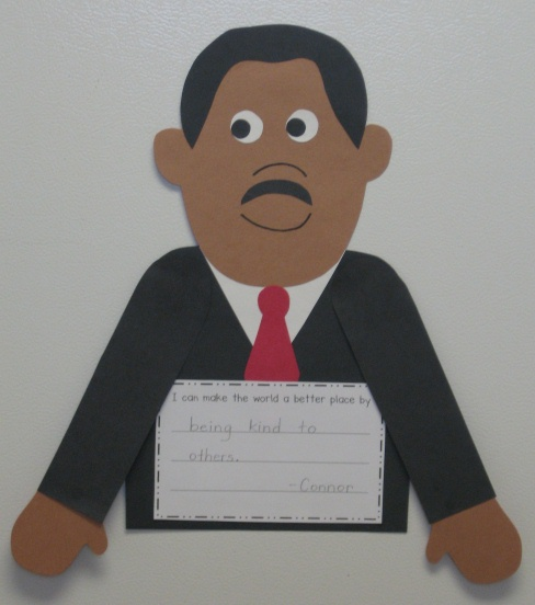 """... from my """"Celebrating Dr. Martin Luther King, Jr."""" thematic unit"""