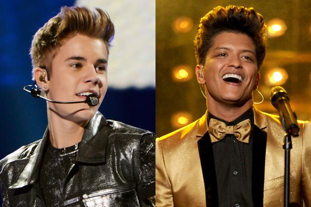 Bruno Mars And Justin Bieber Justin Bieber f...