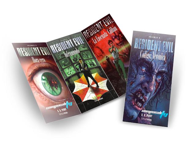 Colección de Novelas Resident Evil PDF