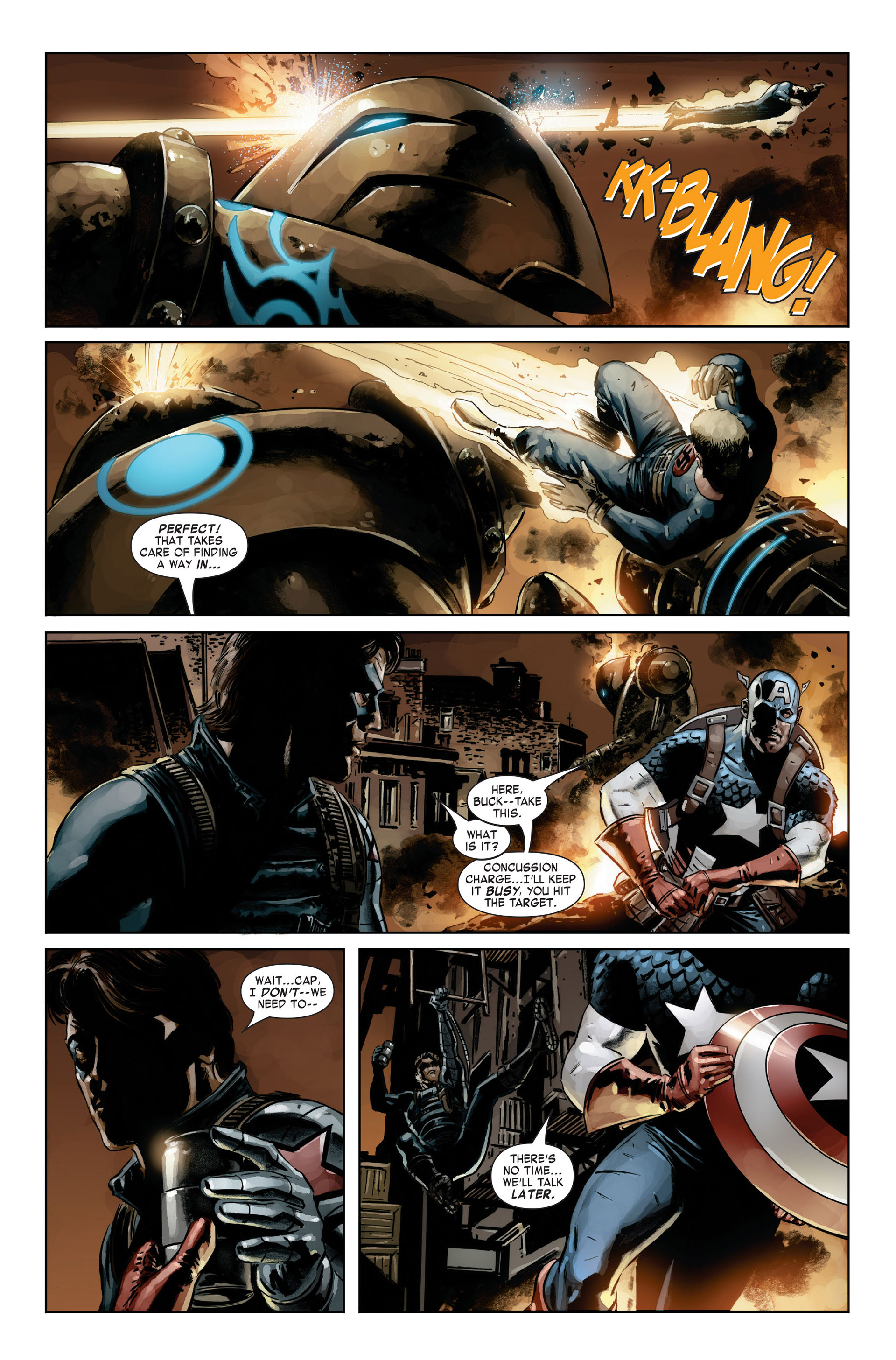 Captain America (2005) Issue #21 #21 - English 14