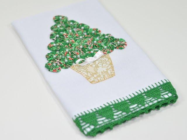 Pano de copa árvore de natal