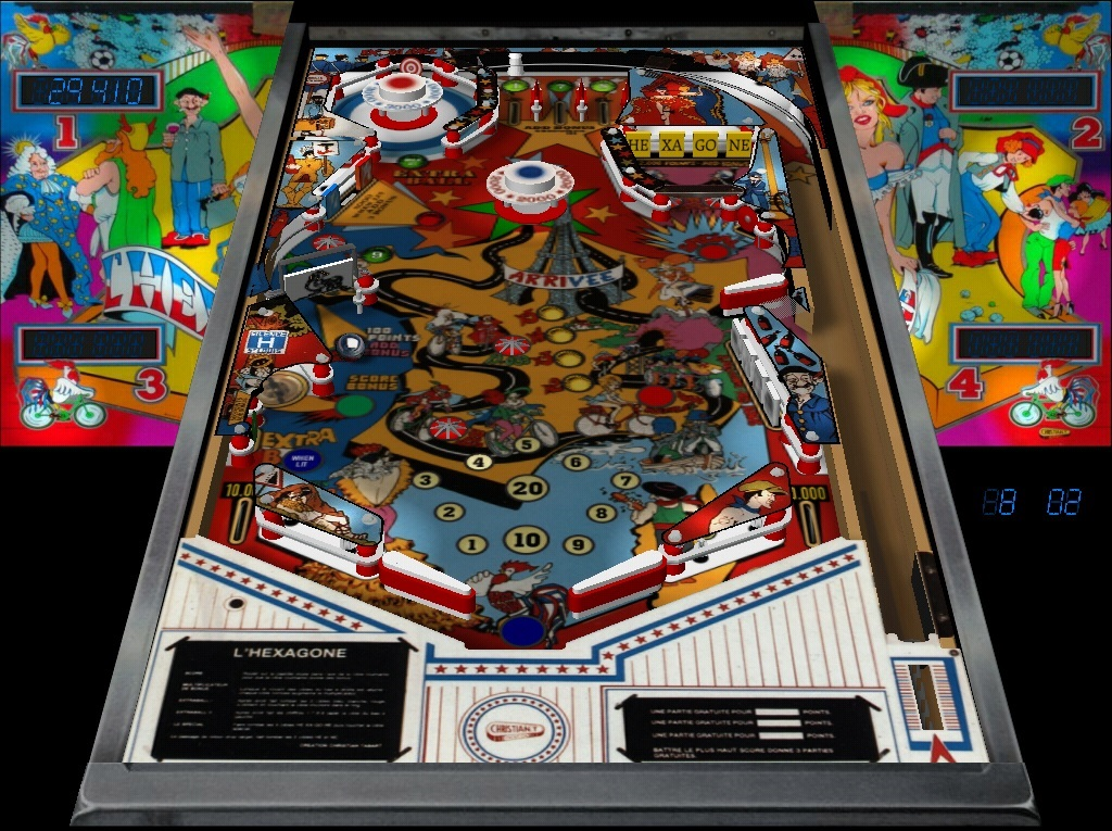 Find free pinball games to download