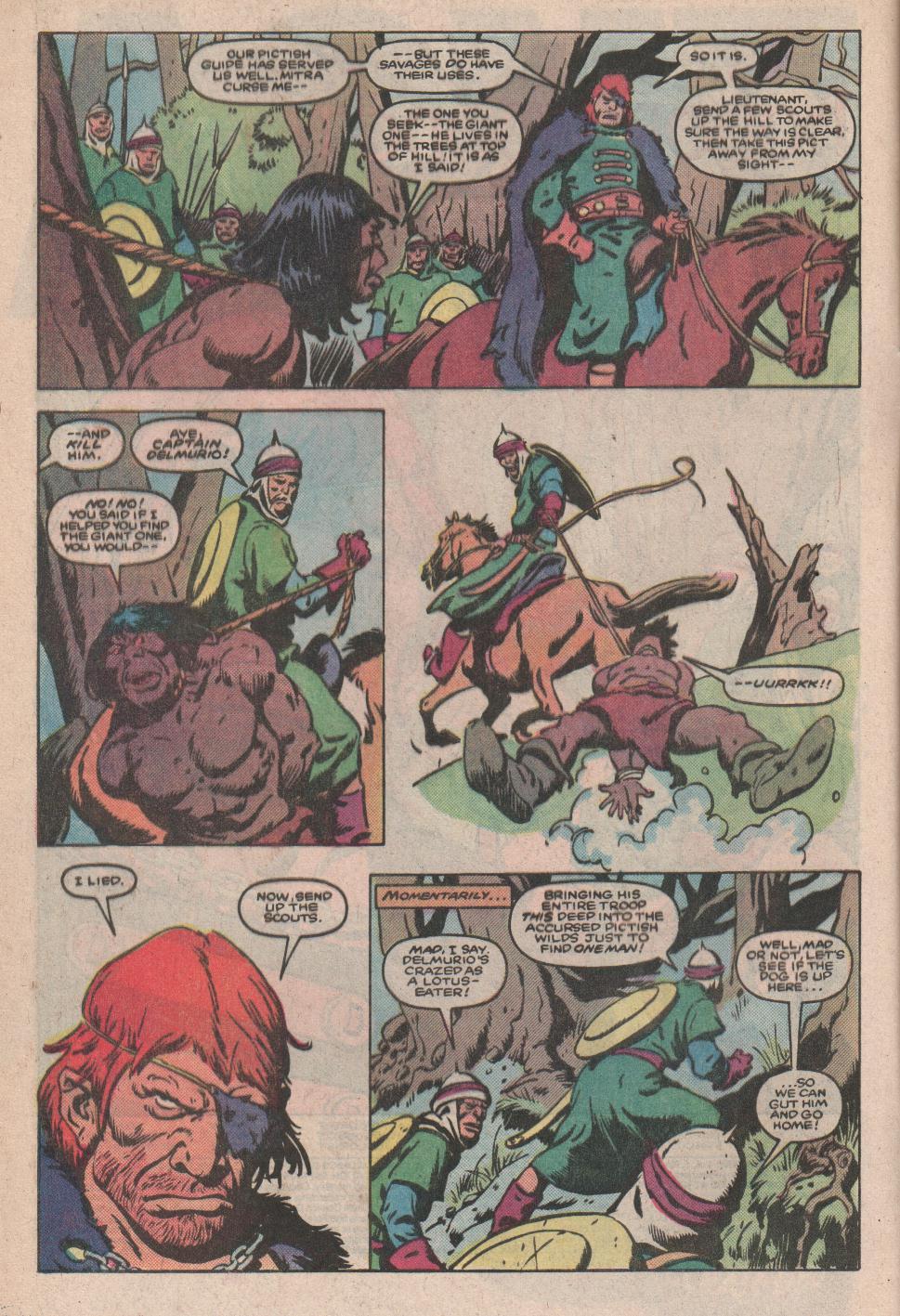 Conan the Barbarian (1970) Issue #173 #185 - English 3