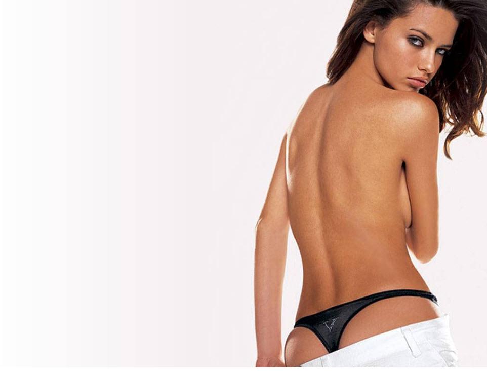 Victoria's Secret Model Adriana Lima