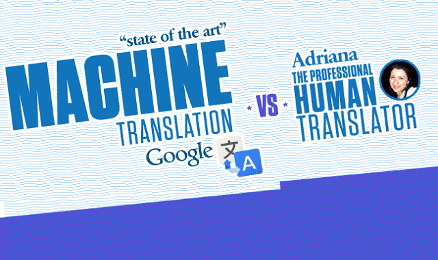 Person vs. Google Translate