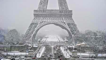 Pemandang Salju Terindah di Prancis
