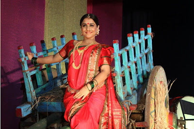 "viday balan dancing at the launch of lavani song mala jau de from ""ferari ki sawaari"" movie actress pics"