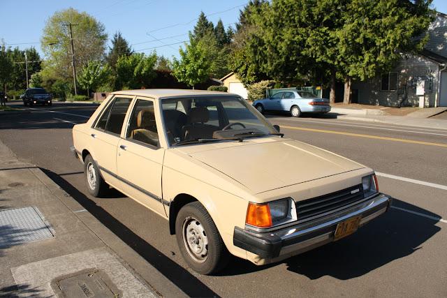1982 Mazda GLC Sedan.