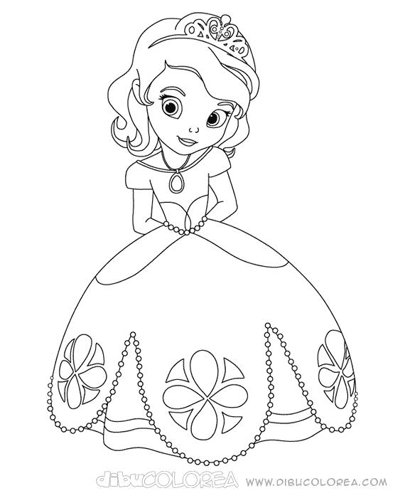 Cosas para colorear princesa bebés - Imagui