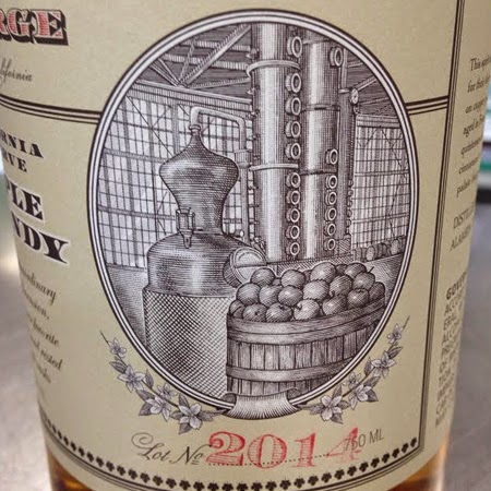 St. George California Reserve Lot No. 2014 Apple Brandy