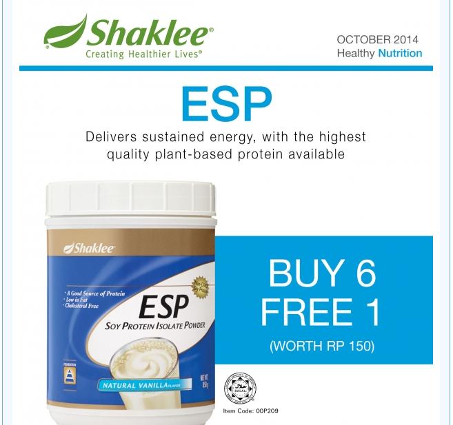 Promosi ESP Oktober 2014 Buy 6 FREE 1