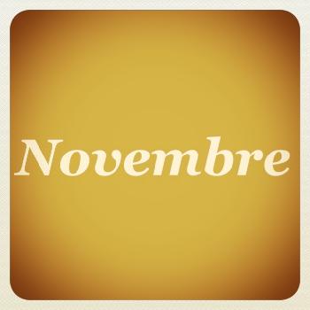 Eventi di Novembre 2018