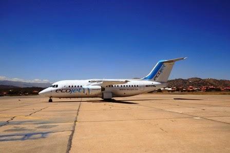 Aerolíneas en Bolivia