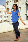 Sneha Tagore Photo shoot in Blue-thumbnail-20