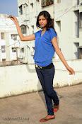 Sneha Tagore Photo shoot in Blue-thumbnail-20