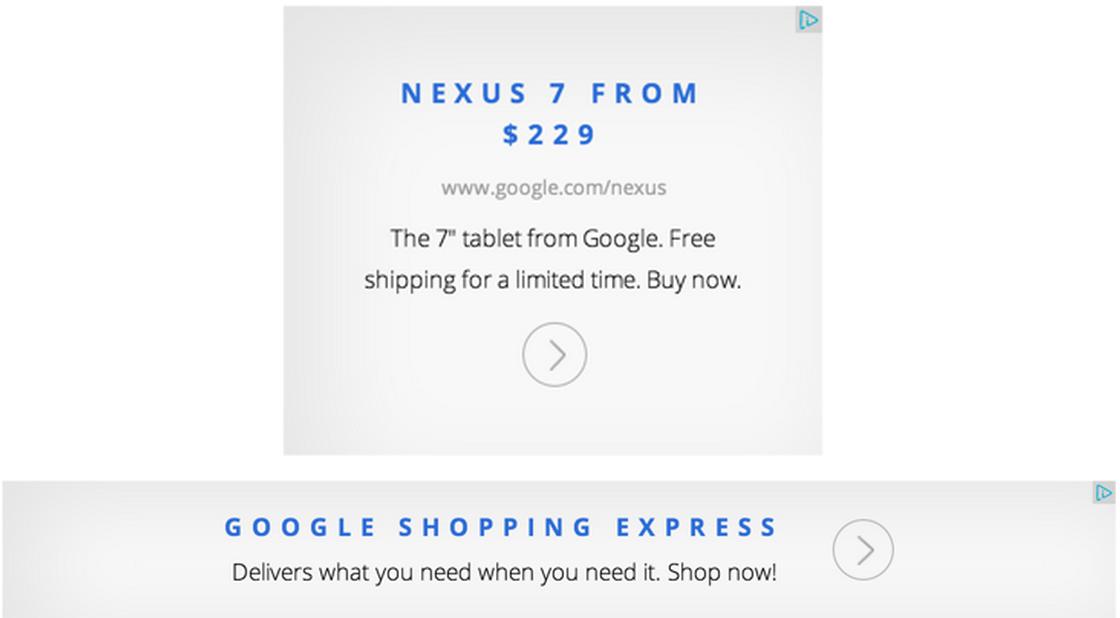 Google magazine ad