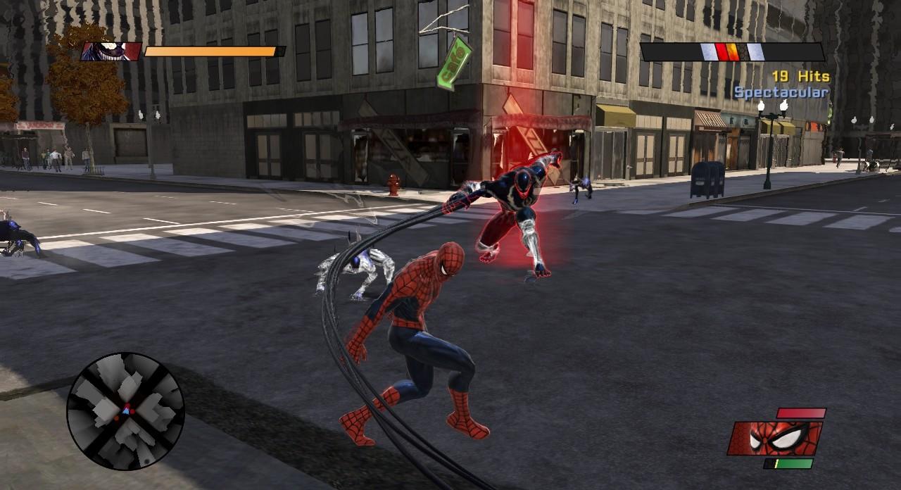 Скачать игру спайдермен web of shadows 2