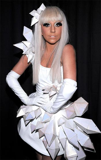lady gaga without makeup or wig