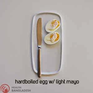 Hardboiled Egg W/ Light Mayo