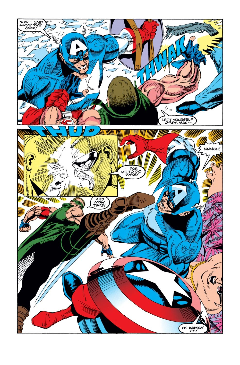 Captain America (1968) Issue #421 #371 - English 4