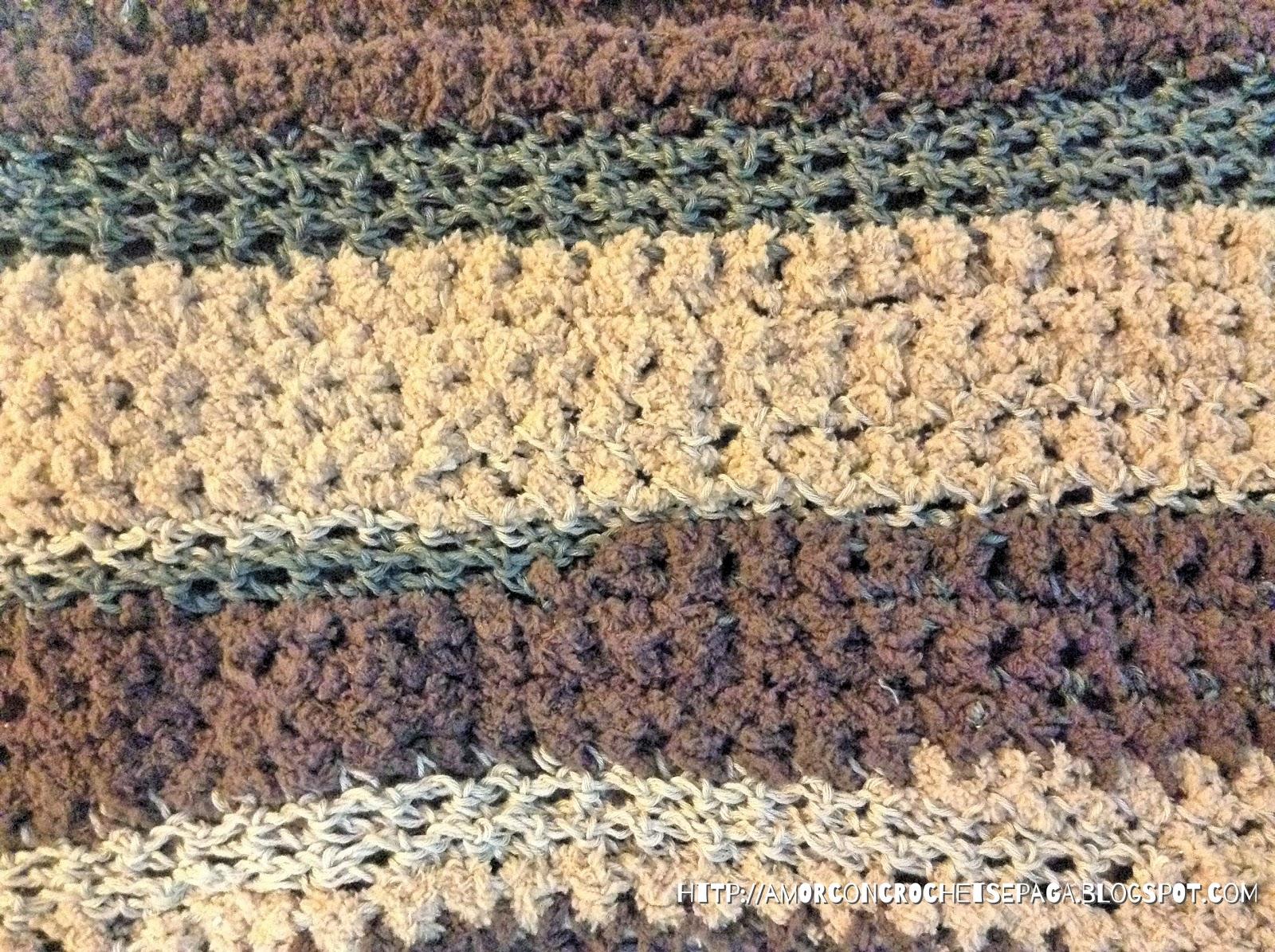 En ocasiones la lana hace la diferencia I (Bufanda simple)