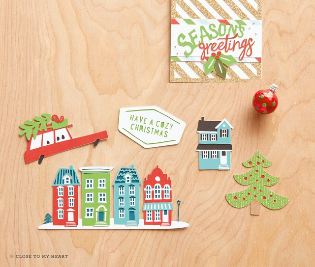 New Cricut City Sidewalks Christmas Cartridge