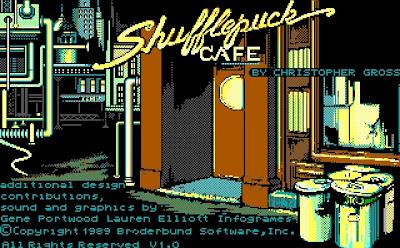 Cafe Sufflepuck game