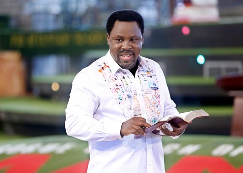 PROPHET T.B JOSHUA: POWER FROM ABOVE
