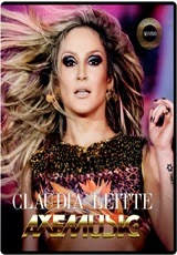 Download Claudia Leitte Axemusic Ao Vivo RMVB + AVI Torrent DVDRip