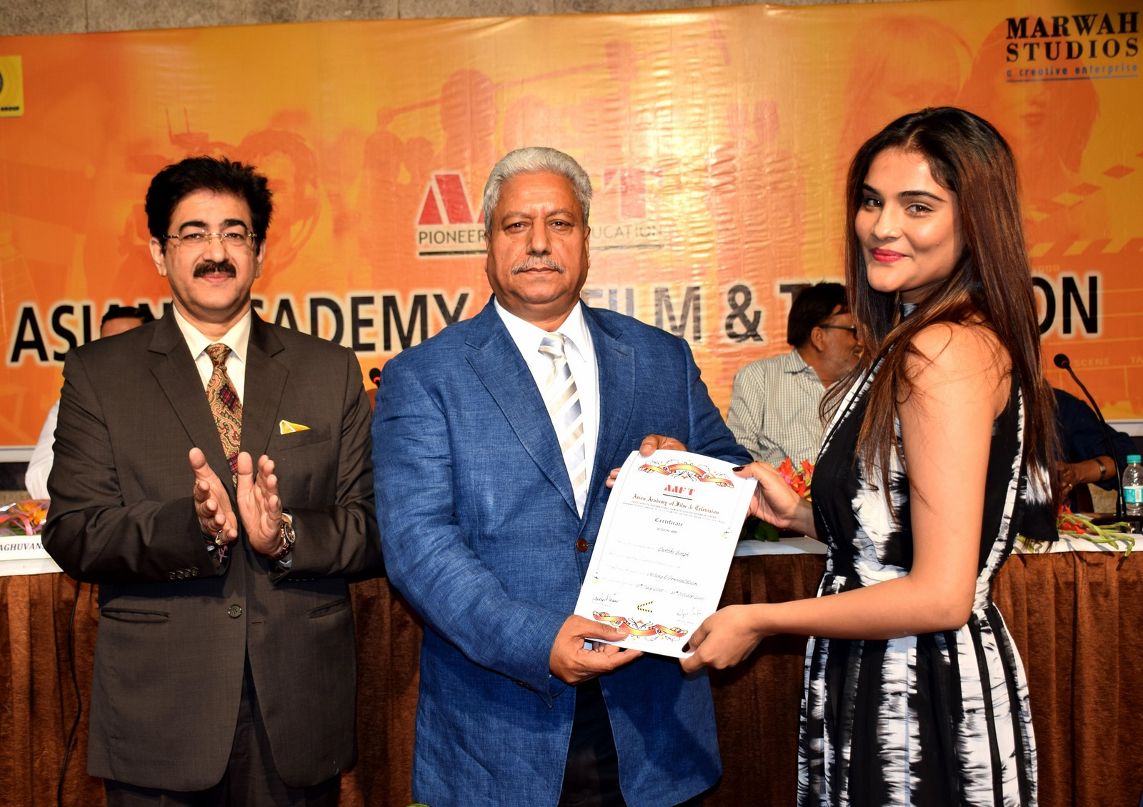 Media News Convocation Of 88th Batch Of Aaft At Marwah Studio