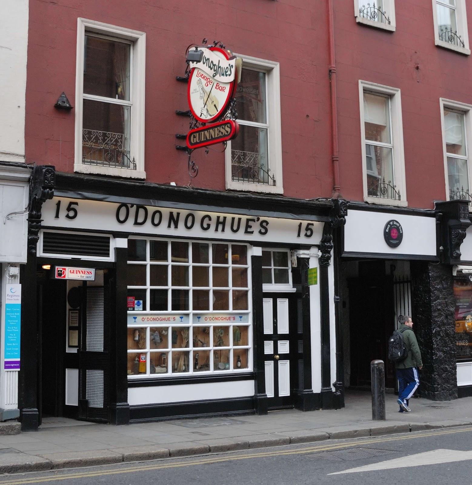 Pauline à La Crème Anglaise: Dublin #1: Restaurants & Pubs